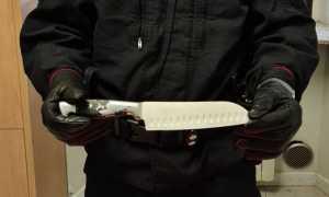 carabinieri coltello