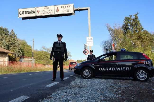 carabinieri gattinaraa