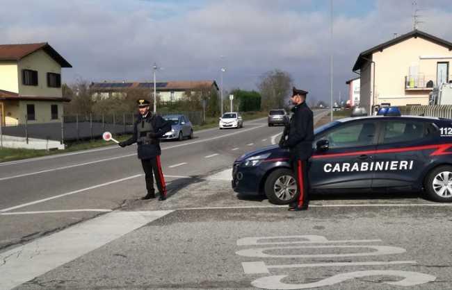 carabinieri stroppiana
