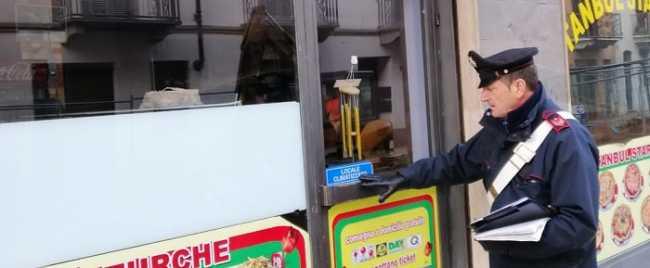 carabinieri trino kebab