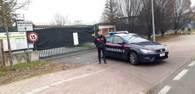 carabinieri vercelli discarica
