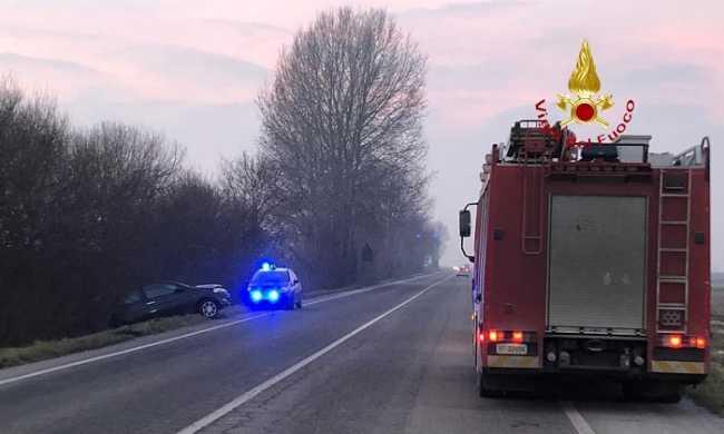 vigili del fuoco incidente vercellese