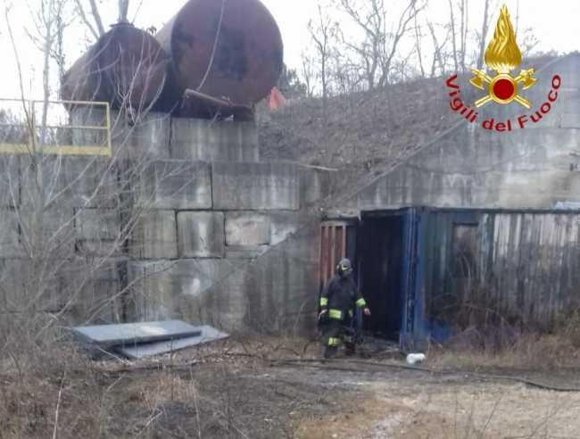 vigili del fuoco serravalle