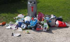 Cestino rifiuti