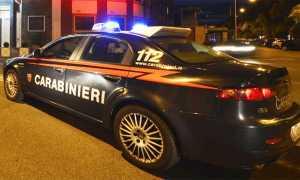 carabinieri auto notte velocita profilo