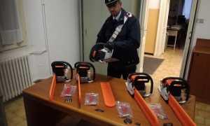 carabinieri desana motoseghe