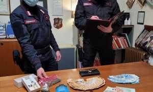 carabinieri gattinara droga soldi