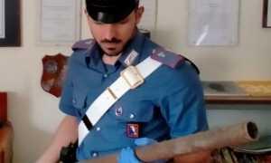 carabinieri spranga