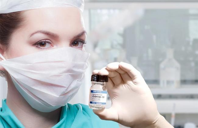 mascherina barattolo dose vaccino