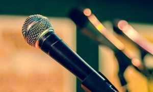microfono cantare