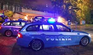 polizia controlli notte ponte