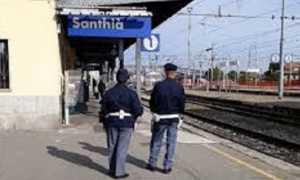 polizia ferroviaria santhia