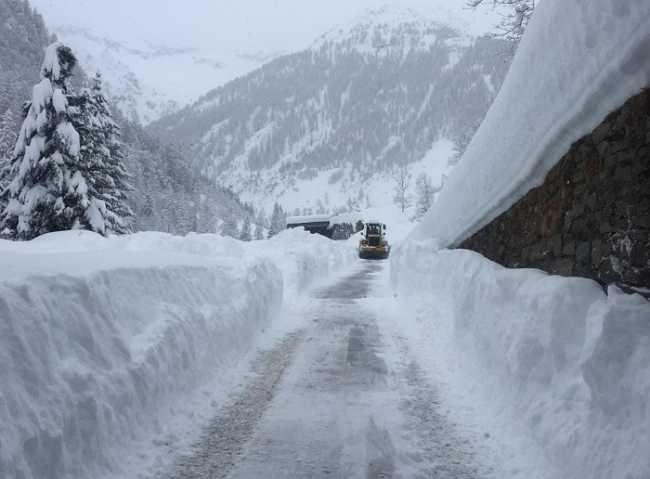 soccorso alpino neve strada