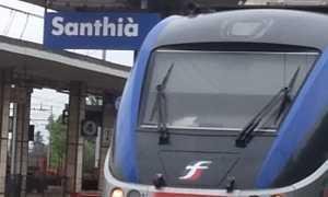 treni santhia