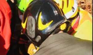 vigili del fuoco incidente boschi