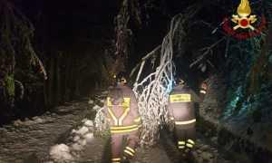 vigili del fuoco neve cravagliana