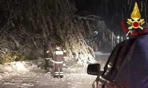vigili del fuoco neve valsesia